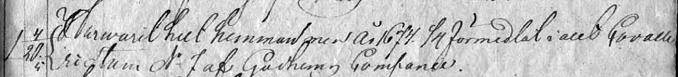 Utdrag ur Speicaljordeboken 1825 för Kronohemmanet Pickagården till 3/4 mtl förmedlat i Klosters by och för Gudhems Kompani, Västgöta Kavalleriregemente, med tillåtelse från ArkivDigtal.se