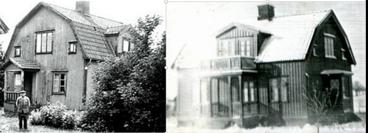 1937 Dalhem 1 ägt av Jenny Berg/ Dalhem ägare S. Friman byggt 1933 -34