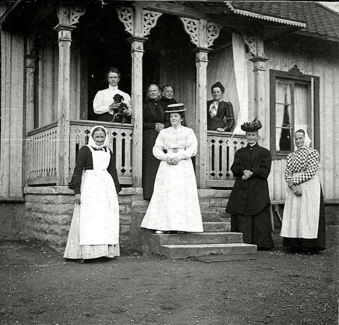 Bild från Förbergs samling tillhandahållen av Astrid Blomqvist, Tomten, 2015