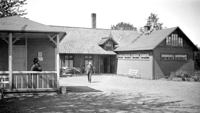 Fotograf: Hilding Abrahamsson 1925. Västergötlands Museum - Bildnummer: A145156:420