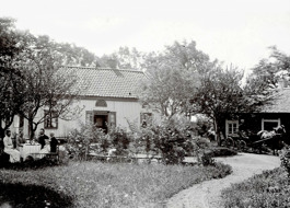 Junkragården strax efter sekelskiftet 1900
