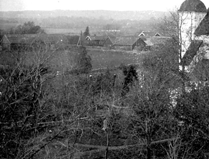 D. 10 b Detalj - Kyrkan före restaureringen 1923