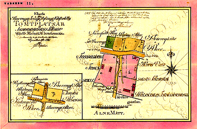 Storbranden 1780 karta