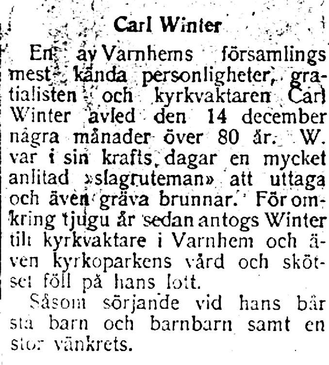Winters runa