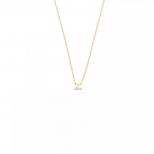 Petite Pearl Halsband Guld
