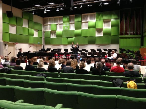 Preparing the Hillborg masterpiece Sirens together with Eric Ericsons Kammarkör