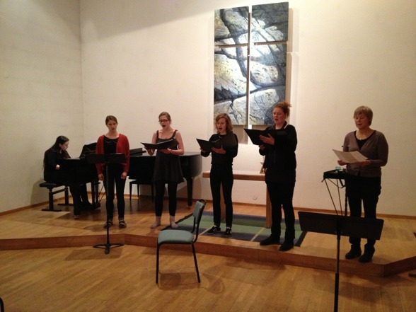 My student singers at Bromma Folkhögskola during the Christmas Concert last week! Great closure of a great term!
