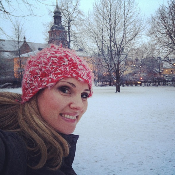 Walking in Falun and the cold winter wonderland.