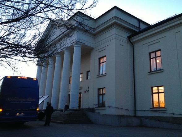 The magnificent concert hall Cassels at Grängesberg