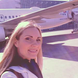 Hannah Holgersson on her way to Oslo
