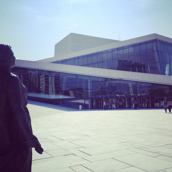Rehearsal at the Oslo Opera!