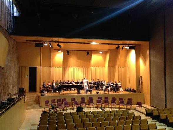 Yesterday, during rehearsal at Palau de la Música!