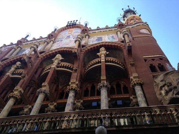 Palau de la Música from the outside!