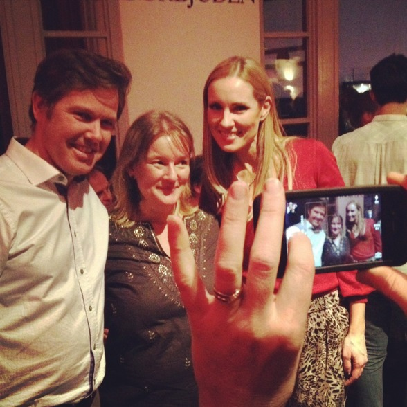 Christoffer Holgersson, Maria Lindal and Hannah Holgersson behind the camera...