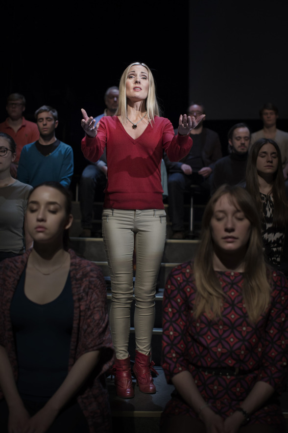 Hannah Holgersson in St Matthew Passion.