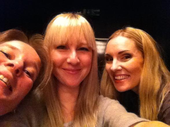 Maria Lindal, Janna Vettergren and Hannah Holgersson having more fun...!=)