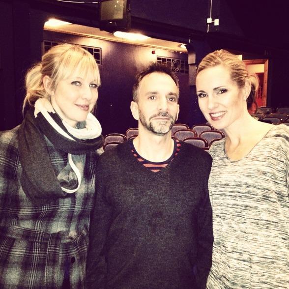 Janna Vettergren, Joshua Sofaer and Hannah Holgersson