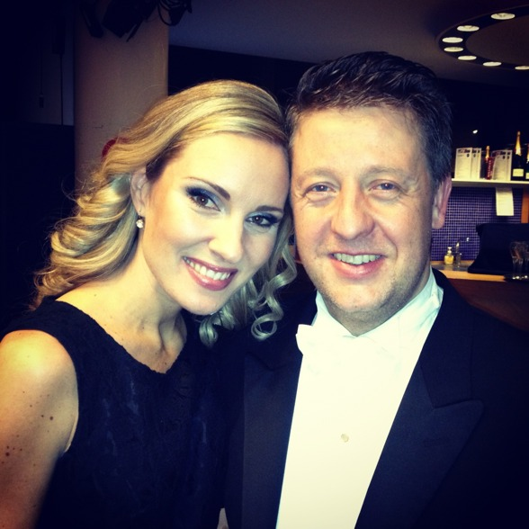 Hannah Holgersson and excellent conductor Per-Otto Johansson!