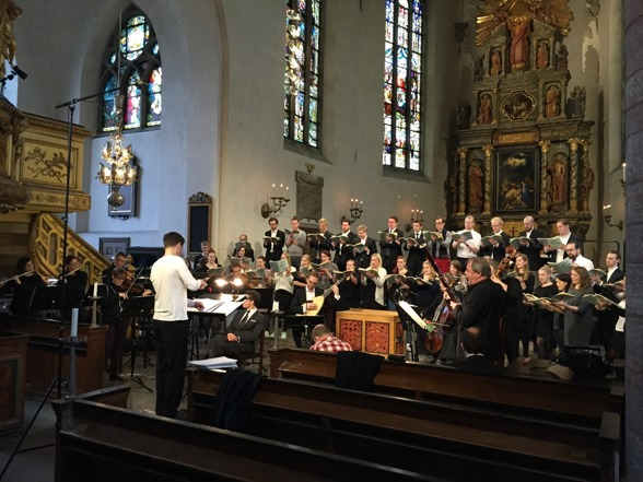 S:t Jacob Youth Choir, REbaroque and conductor Mikael Wedar