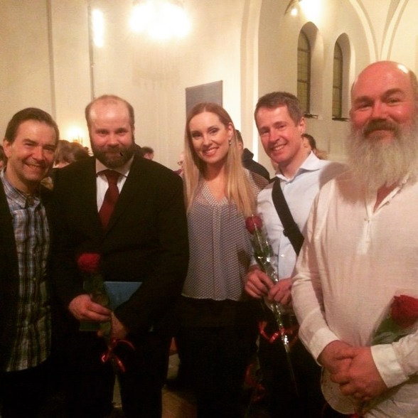 Mikael Bellini, Jakob Högström, Hannah Holgersson, Johan Christensson and Mathias Brorson
