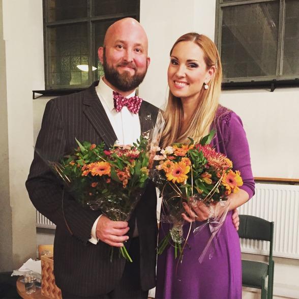 Baritone Johan Wållberg and Hannah Holgersson at Gustavsbergs kyrka