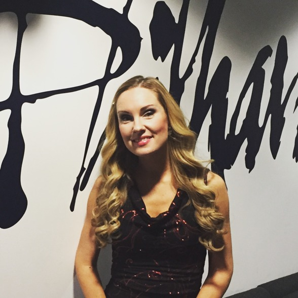 Hannah Holgersson at the BBC Philharmonic Studios, Salford