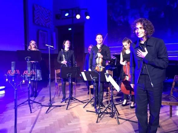 Hannah Holgersson, Magnus Holmander, Staffan Scheja, Christian Svarfvar, Hanna Dahlkvist and Jacob Mühlrad at the premier!
