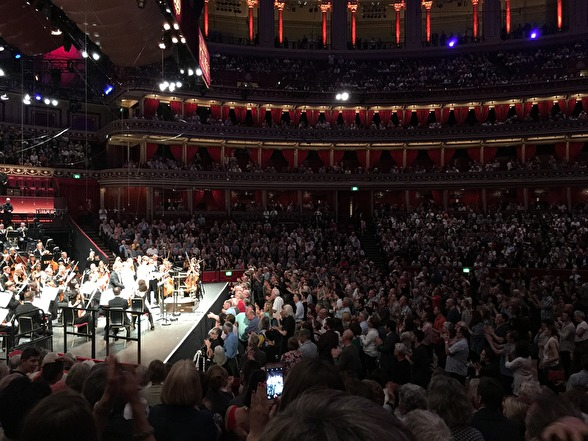 Full seated Albert Hall. Amazing feeling being on stage!