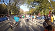 De sista 800m i Central Park