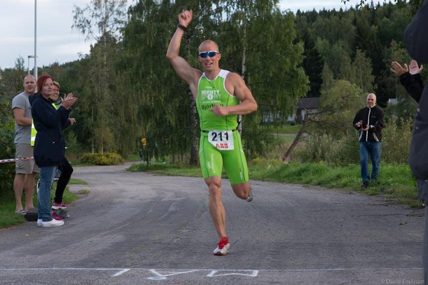 Clas överlägsen vinnare i Notgårdsloppet 2014.