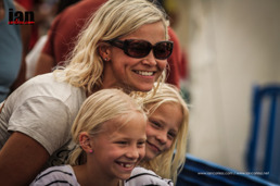 I am so fortunate to have a supporting family! Copyright: Ian Corless / iancorless.com