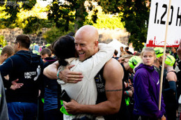 Sjukt hur mycket energi en kram från det största stöd man har i livet kan ge :)