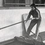 RÖRANDE XTRA MTRL 1978-50,Bengt Sandberg visar teknik
