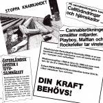 RÖRANDE 1980-73,Projekt Bultarnas kampanj mtrl