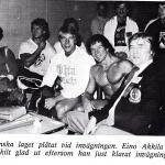 RÖRANDE TIDNINGEN HERCULES 1980-70 Mr Oympia-79,Jan Jönsson