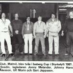 RÖRANDE TIDNINGEN NYA KRAFTSPORT 1981-64,Baltic Clublaget i Isaberga cup-1981