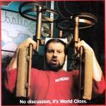 RÖRANDE  B&K 1983 - 25,Ricky ett av sina otaliga reklaminslag