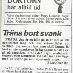 RÖRANDE KVÄLLSPOSTEN 1986-4 001