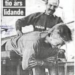 RÖRANDE KVÄLLSPOSTEN 1986-16,Lennart Lind´dn,Lisbet Olsson 001