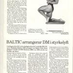 RÖRANDE BALTIC NEWS 1988 - 11 001