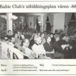 RÖRANDE BALTIC NEWS 1988 - 17 001