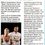 RÖRANDE B&K 1988 - 50,Bobo avancerar internationellt