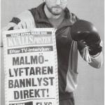 RÖRANDE XTRA MTRL 1988-Bobo slår ett slag för sin bok 001