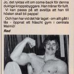 RÖRANDE B&K 1990-5,Janne börjar tänka på tiden efter Baltic Club