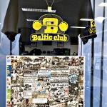 Monter Baltic Rehabs forskningsrum,tröjan skänkt av Björn Erickson