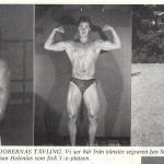 Hercules med Bodybuilding-Mr Foto 1978 1an o 2 an Baltic Clubare