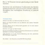 Produktbeskrivning MALTEK modulen för den tyska marknaden