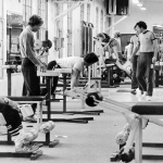 RÖRANDE Bilder i Syd Baltic Club Gym bild 2,1981