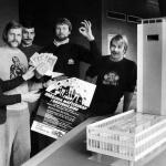 RÖRANDE Bilder i Syd Bengt Bobo Holmqvist o Jörgen Carlberg på SDS 1980
