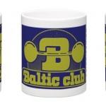 Baltic Club Mugg blågul